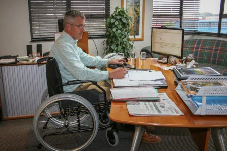 Multotec CEO takes part in our Wheelchair Challenge