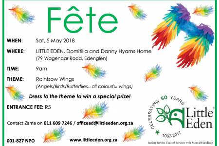 Join us at the LITTLE EDEN Fête