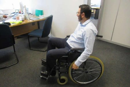Michael Vieira Cardoso from Flender (Pty) Ltd reports back on the Wheelchair Challenge