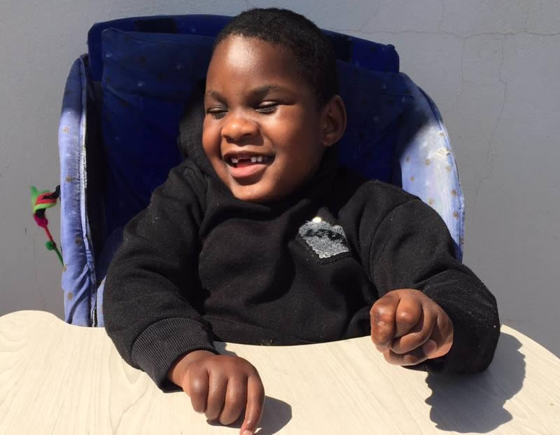 child with profound intellectual disability