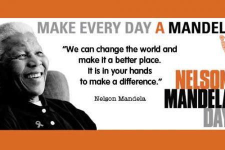 Get involved Mandela Day 2021